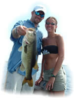 Florida Bass Fishing Couple