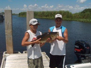 Kids Everglades Fishing trips